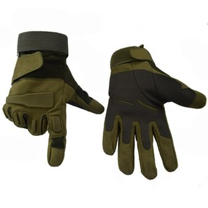 Tactical Gloves Army Combat Fitness Gloves Full Finger Type Hunting Fishing Shooting Camping Outdoor Sport Gloves