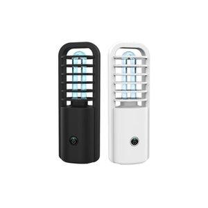 Lampe UV Désinfection Portable USB de charge de stérilisation des ménages UVC véhicule Mini lampe UV stérilisation lumière LJJO7801