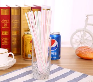 The latest 1 pack = 100 straws, disposable color elbow plastic straws, creative extensions and bendable juice drink milk tea, free shipping