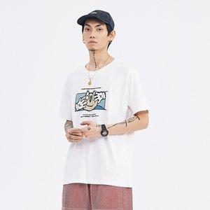 Diseño para mujer para hombre Camisetas para hombre de la moda de verano para mujer camisetas de manga corta Marca personajes de dibujos animados Imprimir M-2XL primavera camisetas 2051303V