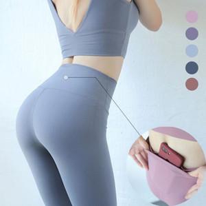 Yüksek Waisted Yoga Pantolon Köpekbalığı Gym Dikişsiz Tayt Yüksek Elastik Egzersiz Atletik Tayt Kadın Pantolon Spor Yoga Koşu Spor ...
