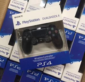 Top Quality PS4 controller senza fili del gioco per PlayStation 4 PS4 Game Controller Gamepad Joypad della barra di Video Games con la scatola di vendita al dettaglio