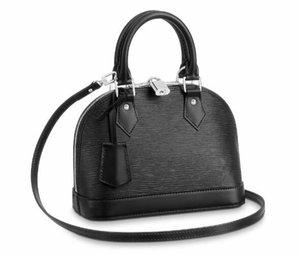 تصميم جديد 2019 EPIES ALMA BB 25CM أعلى جودة الاسلوب ريال جلد المرأة الحقيقية حقيبة يد حقيبة كتف حمل محفظة ارتسي EUROPEAN
