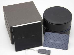 Haute qualité tag heuer boîtes rondes montres en cuir boîtes cadeau boîte en cuir Watch Box mens montres montres box box cases 2018