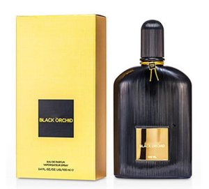 Erkekler Siyah Orkide MARKA Sprey Parfüm Fanscinating Parfüm EDP Deodorant Tütsü 100ml için Yüksek Kaliteli Ford Köln
