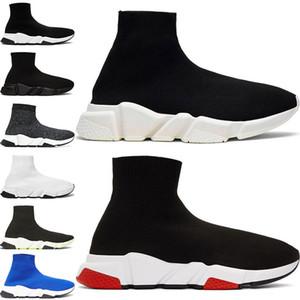 2020 Çorap Erkekler Kadınlar Sneakers Moda Ayakkabı Siyah Beyaz Kırmızı Glitter Yeşil Pembe Düz Erkek Eğitmenler Runner Günlük Ayakkabılar 36-45