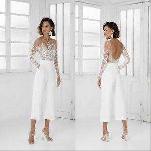 Nuevo vestido de fiesta de las mujeres blancas de la vendimia del baile de fin de curso con mangas largas Vestidos de noche formales del partido del vestido por encargo vestido especial de la ocasión