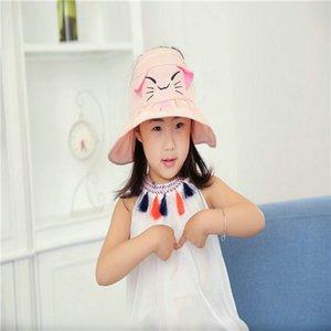 Cartoon Hat For Kid Tie Dye Bucket Hat Beige Baby Boy Bucket Sun Hat Cartoon Funny Fishing Hats For Boys OvNyD