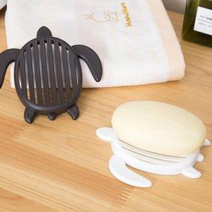 Baño forma de tortuga caja de jabón de baño Jaboneras Drenaje Drenaje de cocina jabón de cocina Plato de accesorios LXL1161