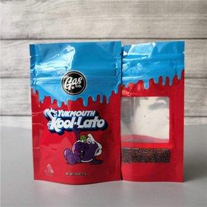 2020 Gasco Mylar Bag Smell Proof Fourlato Gelato33 And Gaslato Child Proof Resealable Bags YUKMOUTH KOOI LATO Mylar Bag Dry Herb DHL