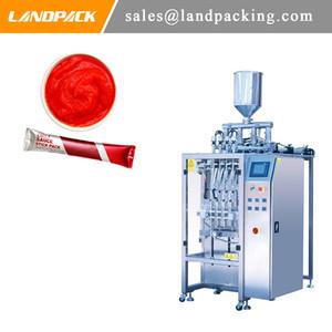 La salsa de chile Multi carril palillo de la máquina de embalaje de alta calidad de la salsa de cobertura líquido vertical de la máquina Proveedor