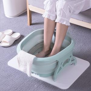1 pcs Creative Haute Qualité Rouleau Pliant De Massage Trempage Des Pieds Bassin Lavage Confortable Spa Utilisation À Domicile Pédicure Soins Détendez-vous Pied Barrel