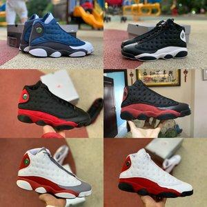 2020 Neue Reverse-He Got Game 13 13s Mannbasketballschuhe der Männer Kappen-und Kleider He Got Game Sneakers Boots US gezüchtet