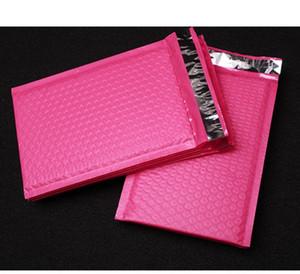 حقائب فقاعة التعبئة بولي فقاعة هدية ميلر الوردي الختم الذاتي مبطن مغلفات حقائب البريدية هدية التفاف