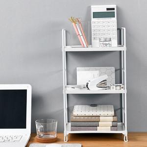 Heiße neue 3-Tiers Bügeleisen Schreibtisch Bücherregal Lagerregal Badezimmer Organizer Küche Rack-Standplatz-Halter Storage Rack Eckregale