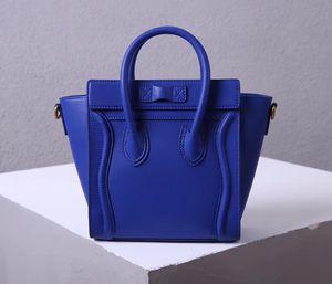 borsa di lusso grande borsa tracolla tote bag sorriso vera pelle vera pelle borsa da viaggio