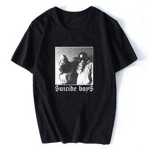 Men T Shirt $uicideboy$ Suicide Boys Mens T-Shirt Suicideboys Hip Hop Rap Shirt Men Cotton Tee Classic Cool T Shirt Plus Size