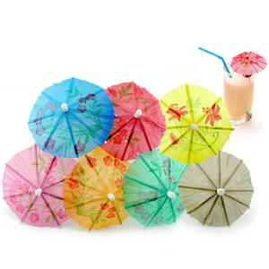 boissons papier de Parasols Cocktail Parapluies pioches Fête de mariage événement Fournitures Vacances Accueil Fête Boisson Parapluies Décoration