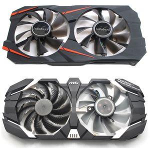 Substituição 85MM 40MM Fan cooler para Gigabyte GeForce GTX 960 1070 TI WINDFORCE OC 8G Nvidia P106-100 6G 4Pin GPU Placa de vídeo Fan