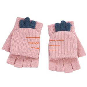Are you sure not to click in and see? Children Kids Boys Girls Winter cute Cartoon carrot Warm Knitted Gloves Purchasing