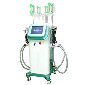 Cryolipolysis corps minceur Machine 360 degrés Mini Fat Gel poignée Double Chins traitement 40k Cavitation Rf vide Device