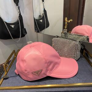 P gorra de béisbol diseñador de las mujeres rosadas de los hombres de los snapbacks de alta calidad de la nueva manera de lujo para hombre casquillo de la manera de los deportes gorra de béisbol gorras de béisbol de diseño
