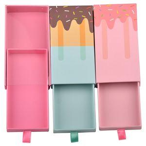 상자를 포장 도매 속눈썹 박스 포장 아이스크림 속눈썹 종이 상자 가짜 속눈썹은 속눈썹 카스 가짜 눈 속눈썹 상자 포장 비우기