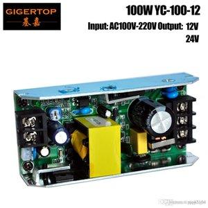 TIPTOP YC-100-12 100W alimentazione della scheda Per 54x1W ha condotto la luce par / 54x0.75W Led Par light / LED Wall Washer luce RGB 3IN1