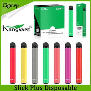 Original Kangvape Slick Além disso dispositivo descartável Pod 550mAh Battery 3,5 ml Cartucho Vape Pen VS Puff Além disso Bar Kit Genuine