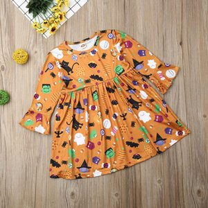 Emmababy ragazza del capretto del fumetto divertente increspature bella partito del vestito da principessa Pageant Halloween Skirt Clothes