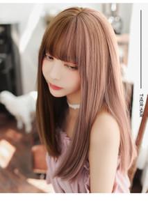 (DM-WIG20) Resina Japão Anime Kigurumi Cosplay Máscara Lolita Crossdressing BJD Máscaras Cosplay Wig T200509