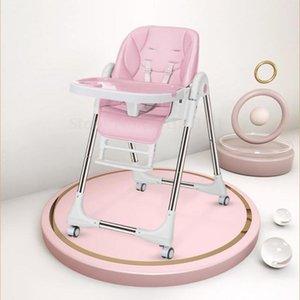 Детский обеденный стул детский обеденный стул складной многофункциональный портативный подходящий ребенок