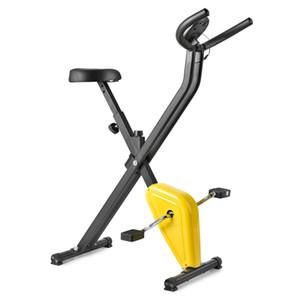 Indoor Heimtrainer Fitness Upright Heimtrainer Riementrieb Startseite Radfahren Innen Stationär-Fahrrad für Cardio Workout Abnehmen