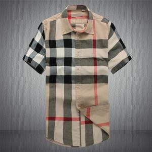 Gros- 2019 Nouveau Français Boutons de manchette Bouton Hommes Chemises à manches longues classique Marque formelles Chemises affaires Mode camisa masculina Boutons de manchette