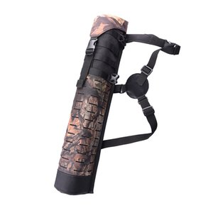 Three Point Fixed Back Arrow Quiver Archery Bow Holder Belt Bag For Hunter Outdoor Hunting and Shooting Camouflage