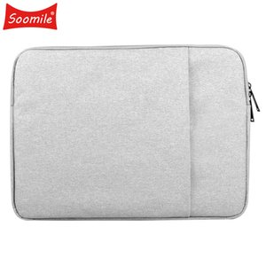 Soomile 2018 12-15 inch Laptop Bag Male Simple Protfolio Office Briefcase Waterproof anti-thef aseismatic Business bags