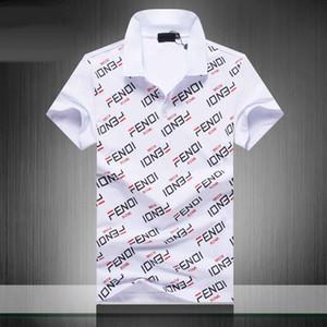 Nova 2019 poloshirt Medusa Itália polo luxe manga curta camisas dos homens de moda dos homens moletons homens Casual camiseta