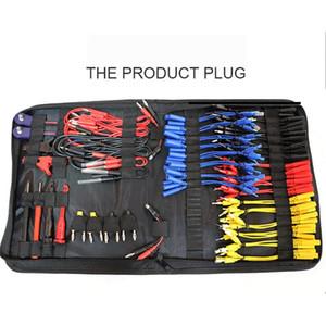 Reparación de prueba multifunción alambre del coche cables de diagnóstico Conectores Juego de herramientas de probadores eléctrico Con bolsa de almacenamiento MST-08