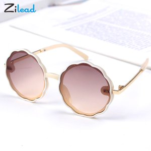 Zilead Baby Sunglasses Fashion Round Frame Personality Kids Sun Glasses Children cUTE Glasses UV-resistant Trendy Boys and Girls