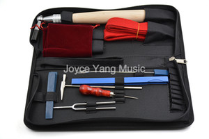 Набор 10шт Piano Tuning техническое обслуживание инструментов для фортепиано Музыкальные инструменты частей Аксессуары со случаем Бесплатная доставка