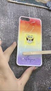 DIY caso de teléfono personalizada Tiktok caliente Resina phonecase