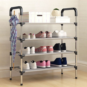 Actionclude Multi-purpose Multi-porple Squeh Rack Household Dust-proof Die Assembly Shoe Organizer Space Saver T200320