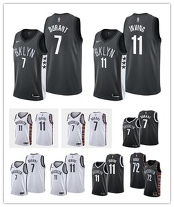 2020 MensBrooklynNetsKyrie Irving Finished Swingman Basketball Jersey Authentic Stitched 11 Kyrie Irving Basketball Shorts