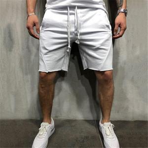 Pantaloncini Uomo Moda Casual Traspirante Pantaloncini per uomo Estate Confortevole Tinta unita Cuciture taglie forti Fitness Uomo Bodybuilding Short Homme