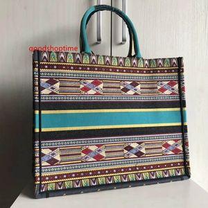 2020 top quality book tote embroidered canvas handbag designer luxury handbags fashion ladies shopping bag casual tote bags