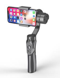 ترقية H4 الهاتف المحمول استقرار ثلاثة محاور يده انحراف الميل الجدول المحمولة استقرار مدونة فيديو التصوير تتبع المضادة للاهتزاز smartphon
