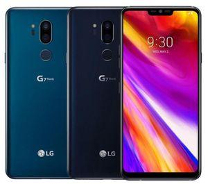 الأصلي LG G7 شيء becouse لاني G710 الثماني الأساسية 4GB / 64GB 6.1inch المزدوج كاميرا خلفية 16MP سيم واحدة 4G LTE تجديد الهاتف مقفلة