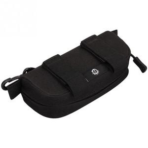 Waterproof Lightweight Waist Belt Pack Multifunctional Zipper Glasses Bag Durable Nylon Glasses Bag for Men Women and Children