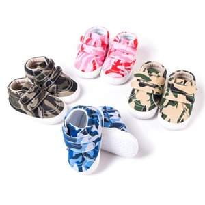 New Baby Boys Girls Breathable Spring Autumn Infant Camouflage Print Casual Soft Sole Prewalker Toddlers Non-slip Shoes 2020