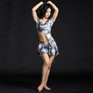 3pcs / suit 배꼽 춤 오리엔탈 댄스 배꼽 의상 카니발 의상